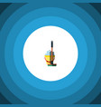 isolated bucket flat icon mop element can vector image