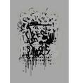 Graffiti Art Background vector image