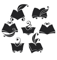 library collection vector image