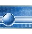 global technology vector image vector image
