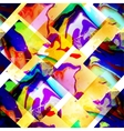 abstract pattern of geometric shapes vector image