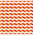 Aztec chevron seamless hot pattern red and orange vector image