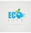 Eco Life Planet vector image