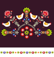 EmbroideryPattern vector image