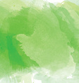 green watercolor background 1603 vector image
