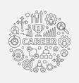 modern career vector image