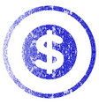 finance grunge textured icon vector image
