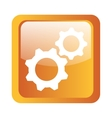 gears icon symbol design vector image
