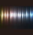 metallic abstract bar line background vector image