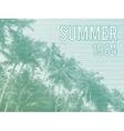 Retro Summer Poster vector image