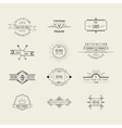 Set of Badges and Labels Elements vector image