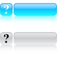 Help square button vector image vector image