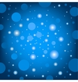circular effects blue background vector image vector image