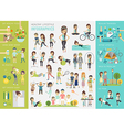 infohealthy lifestyle vector image
