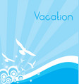 Your Vacation vector image vector image