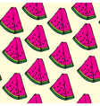 Pieces of watermelon vector image