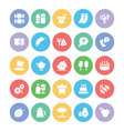 Food Icons 4 vector image