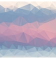 Abstract pink blue light blue background polygon vector image