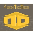 Architecture studio symbol vector image