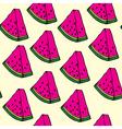 Pieces of watermelon vector image