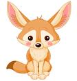 Fox Fennec vector image