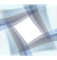 Window from blue waves vector image