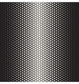 Seamless Black and White Halftone Gradient vector image