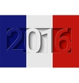 France 2016 design vector image