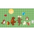 Forest critters vector image