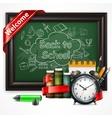 School time Alarm vector image