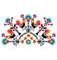 folk pattern vector image