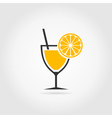 Alcoholic cocktail2 vector image vector image