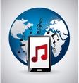 media player app vector image