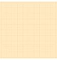 Millimeter grid background vector image