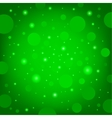 circular effects green background vector image vector image