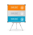 colorful board Option banner vector image