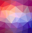 Triangle mosaic background vector image