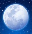 Full moon vector