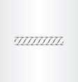 rope icon design vector image