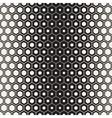 Seamless Halftone HoneyComb Gradient vector image