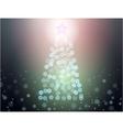 abstract christmass tree vector image