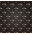 Fleur de lis seamless pattern French vector image