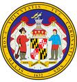 Maryland Seal vector image vector image