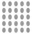 fingerprints icons set vector image