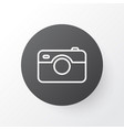photographing icon symbol premium quality vector image