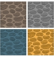 Seamless stone background vector image
