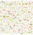 cute floral pattern vector image
