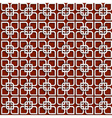 3d white pattern in islamic style vector image vector image