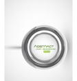 modern button vector image