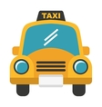 taxi service isolated icon design vector image